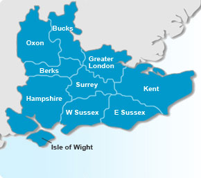 South East Map