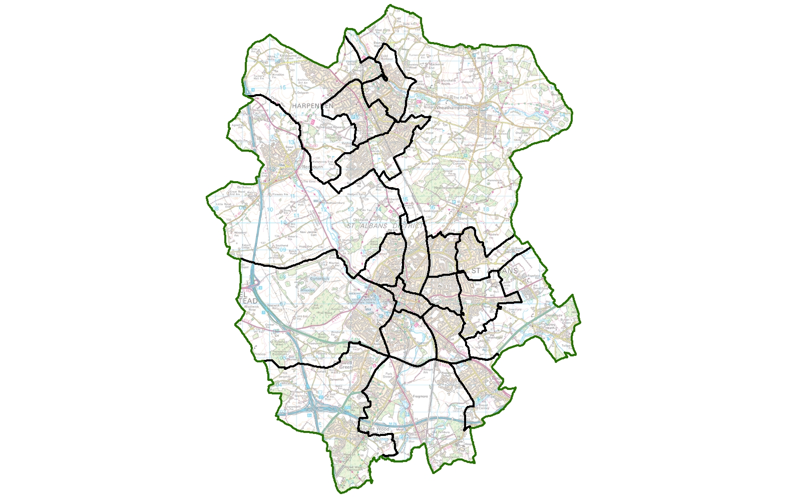 St Albans new wards
