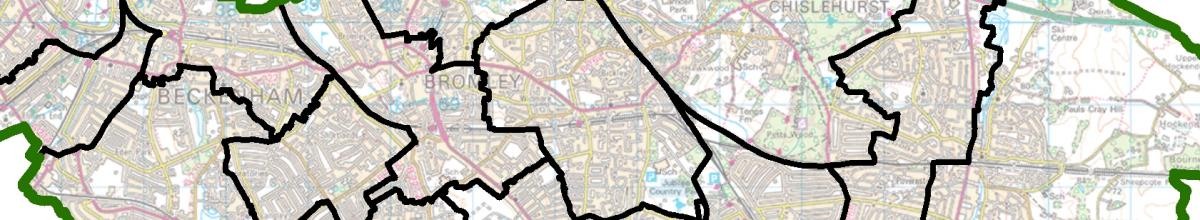 Current ward boundaries