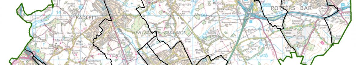 Hertsmere Map